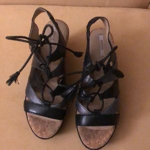 GEOX wedges size 6